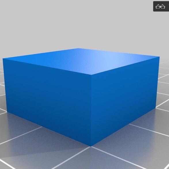 callibratie box 20x20x10