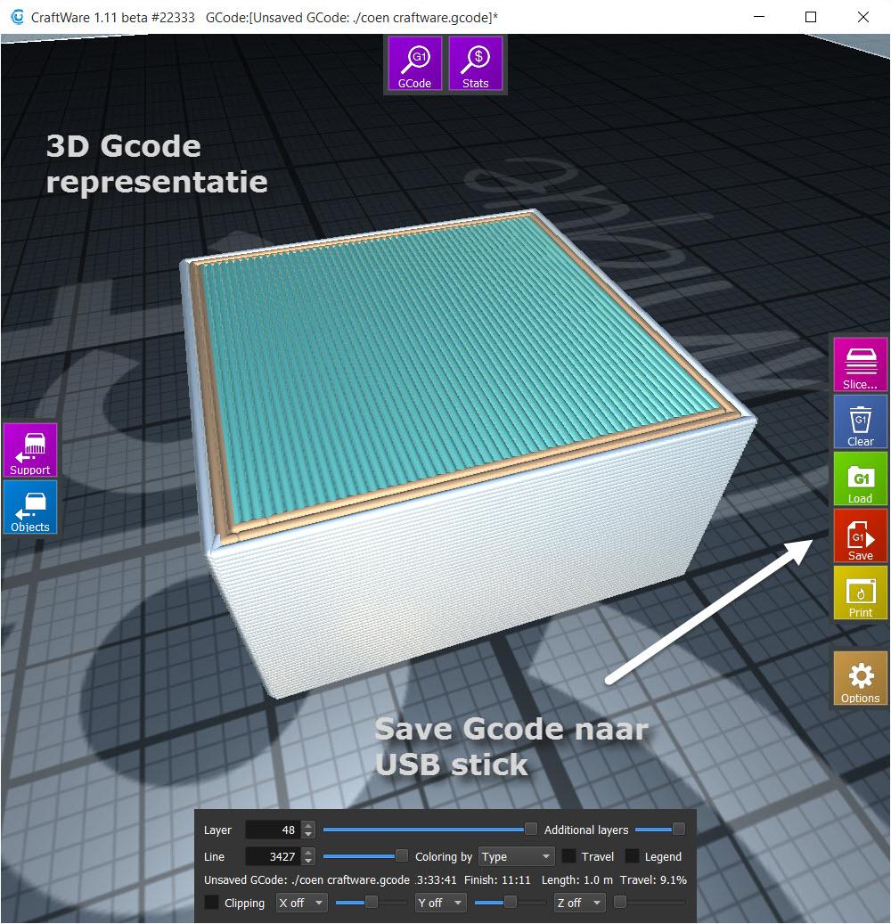 gcode save