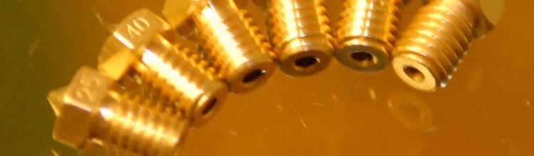 Kleine en grote Nozzles: Voordelen en Instellingen voor Slicers