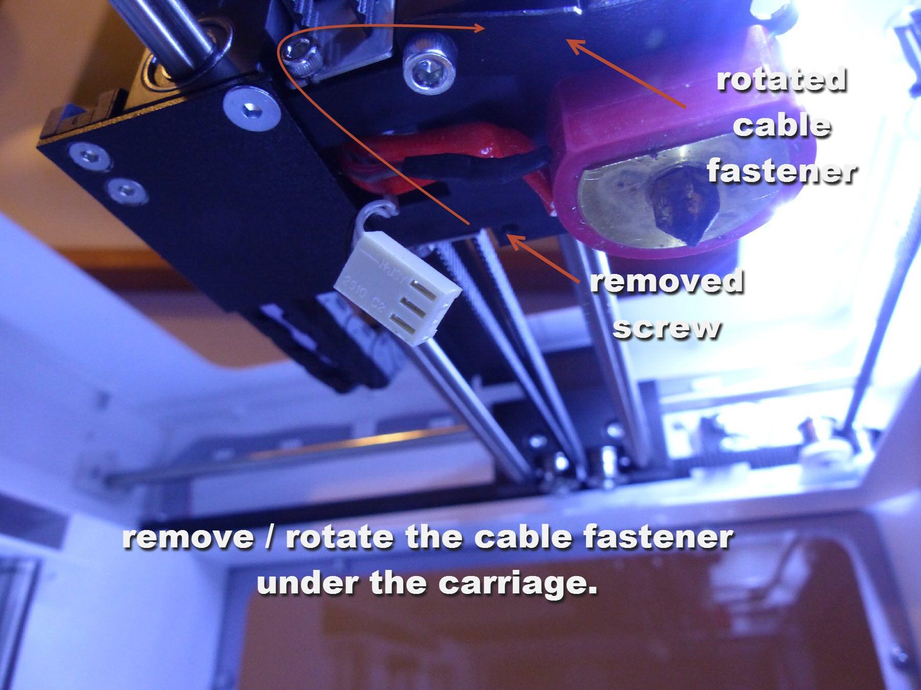 mini-3 cable fastener