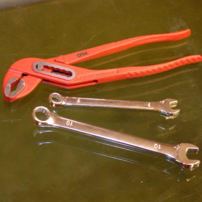 Nozzle en hotend gereedschapa