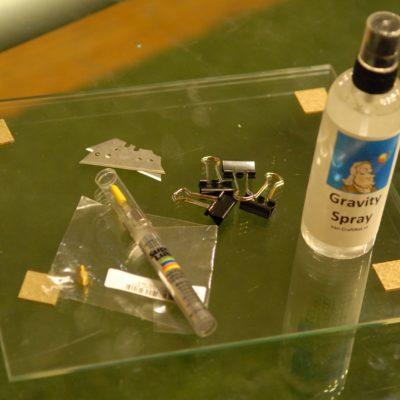 voordeelset glas olie ed B