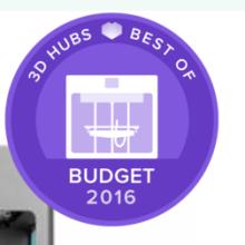 CraftBot uitgeroepen als beste budget 3D Printer!