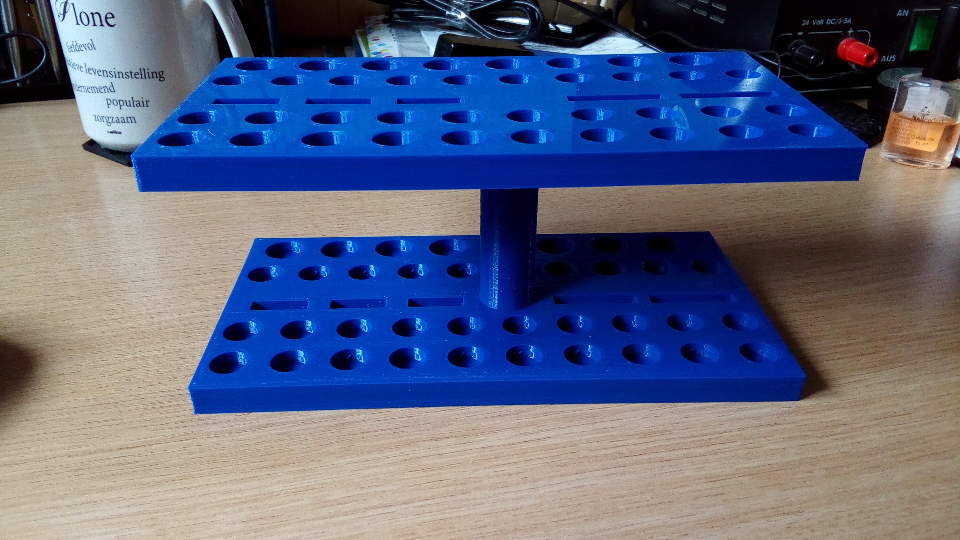 organizer blauw