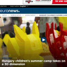 Een kort filmpje over de CraftBot gebruikt in Kids Zomerkamp.