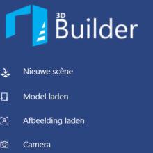 3DBuilder: goed stl reparatie programma voor Windows gebruikers!