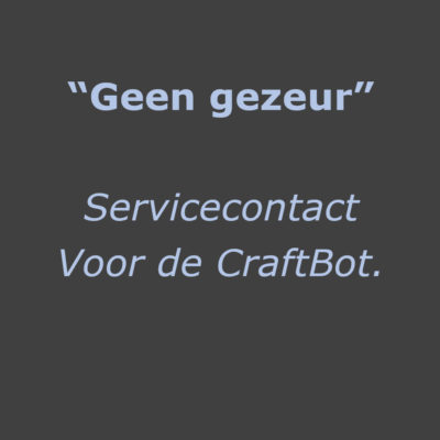 Servicecontract CraftBot