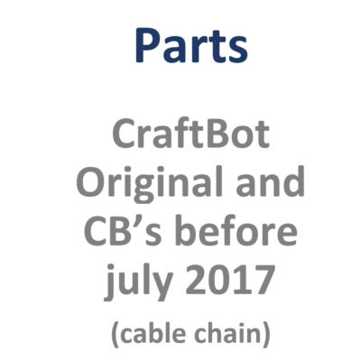 CraftBot Original and CB's before July 2016