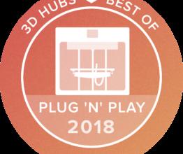 De CraftBot PLUS is wederom als beste Plug'n'Play printer getest!