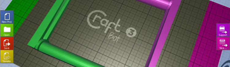 Download CraftWare 1.21 and Craftprint 1.14