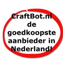 Prijsvergelijk: CraftBot.nl is de goedkoopste aanbieder van CraftBots in Nederland!